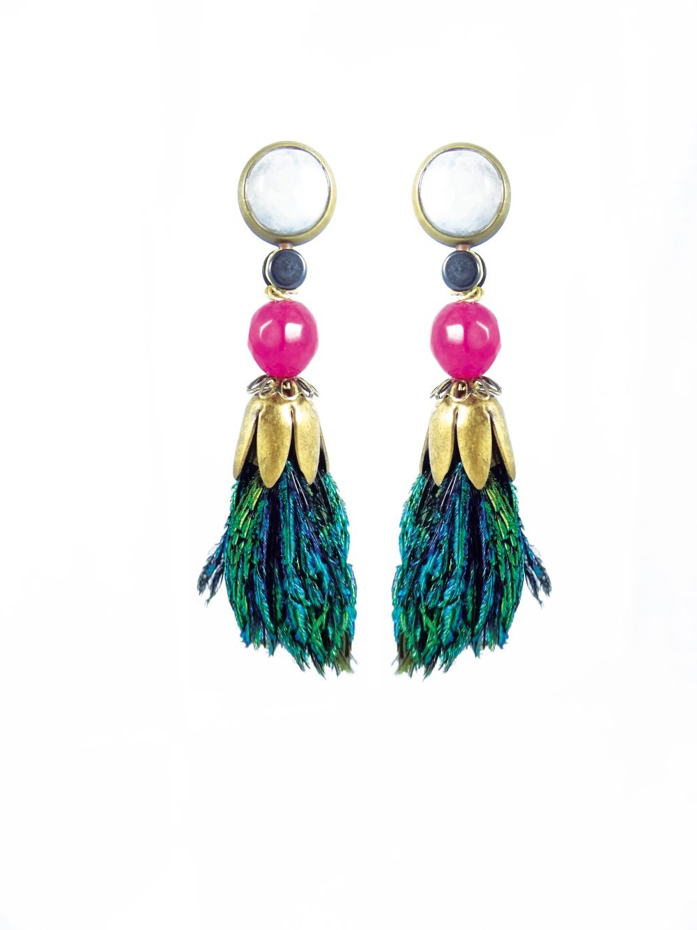 """Boucles d'oreilles - Collection """"Atheya"""""""