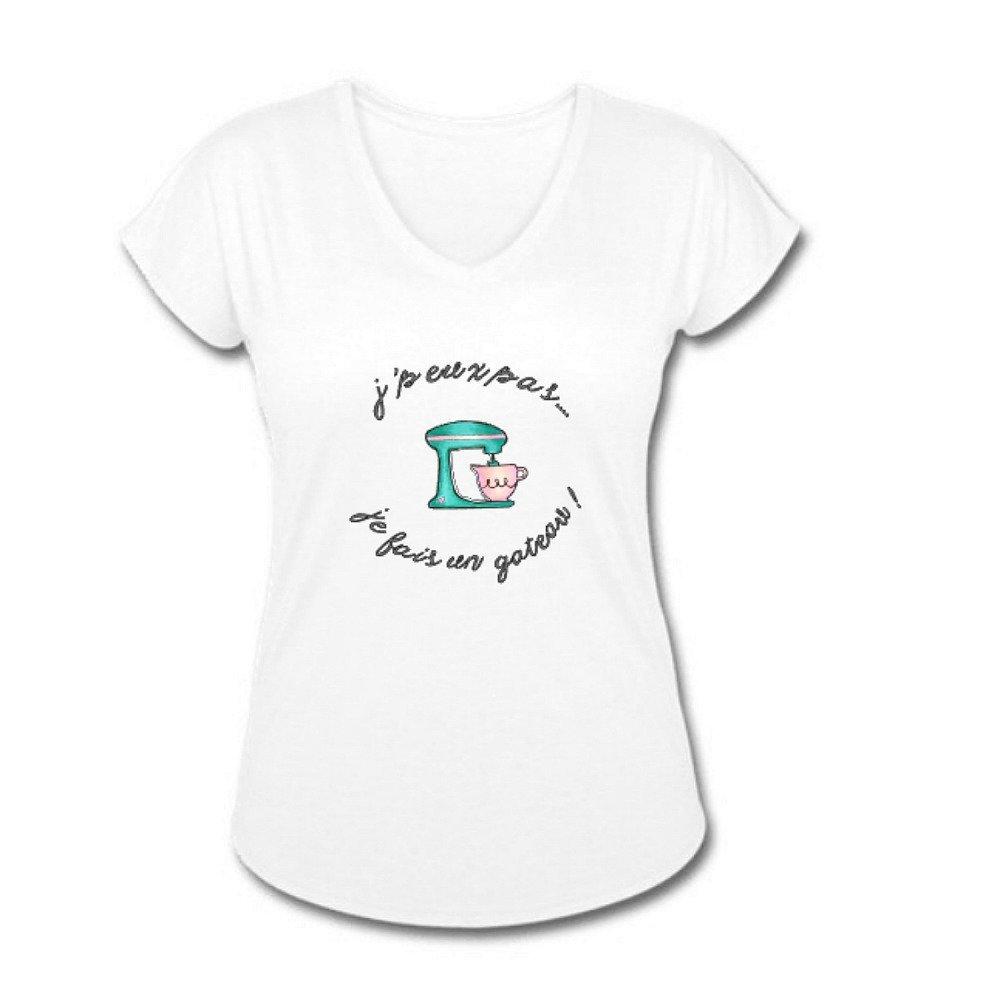Tee-shirt femme, gâteau, t-shirt, pâtisserie,