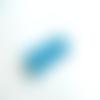 10 cabochons résine fleur 10mm bleu