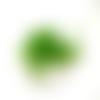 20 perles rondelle cristal facetté 8x6mm vert
