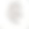 10 breloques étoile argenté 10mm