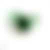 1 support bracelet vert pour cabochon 20mm