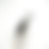 Bobine 10 mètres fil cablé gris argenté 0.45mm
