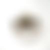 Pendentif connecteur lunettes bronze 57x20mm