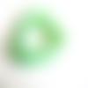 20 perles rondelle cristal facetté 8x6mm vert pomme