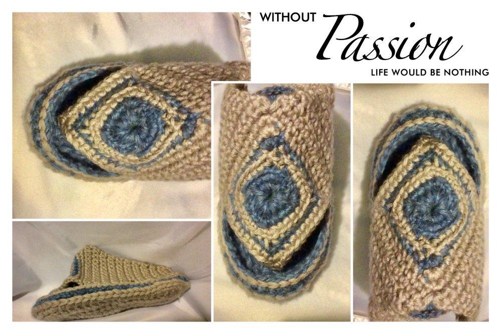 Master class( étape par  étape) en photo format pdf ,tutoriels fabrication en français, chaussons au crochet fait main
