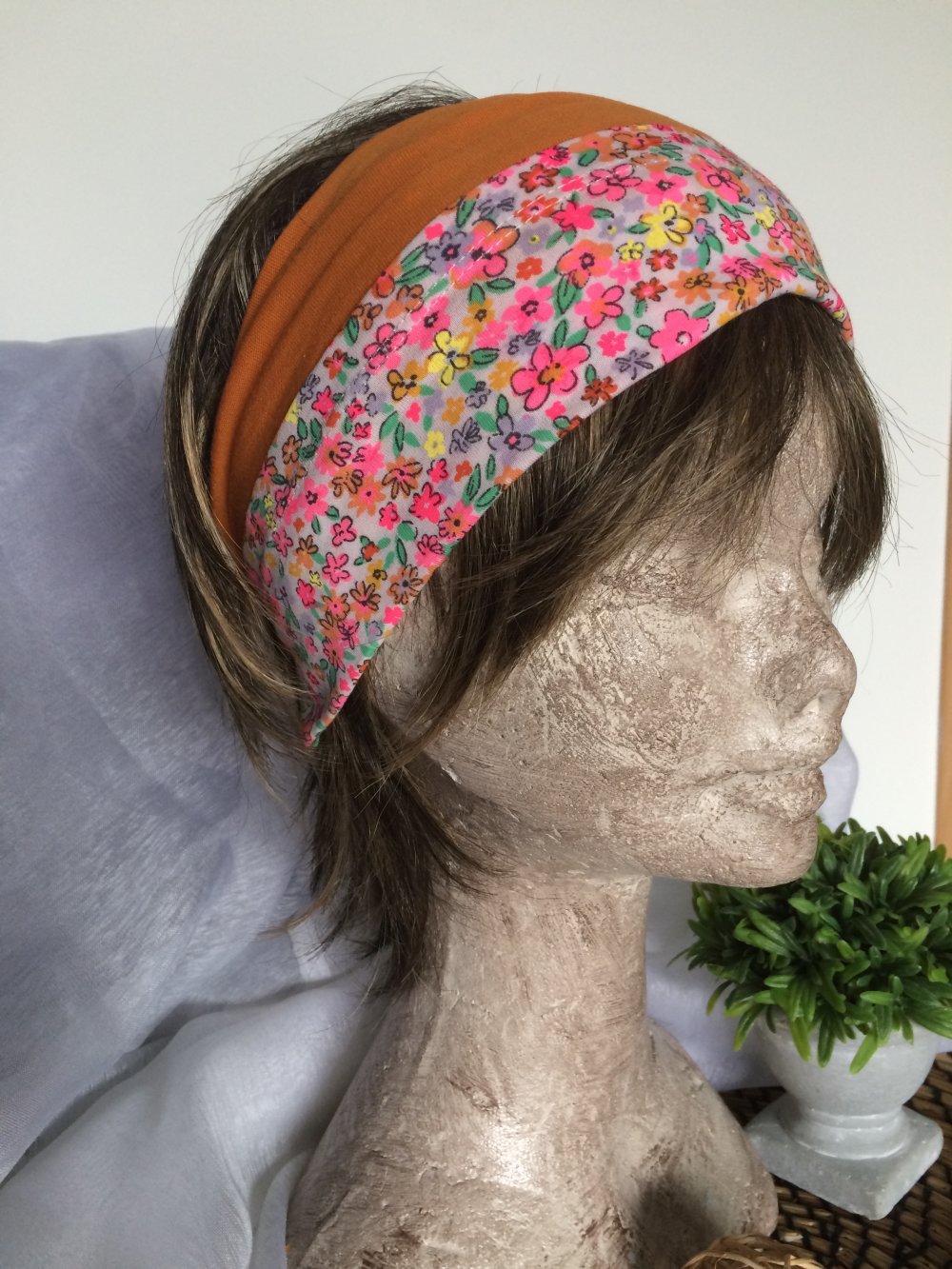 Bandeau bonnet turban chimio