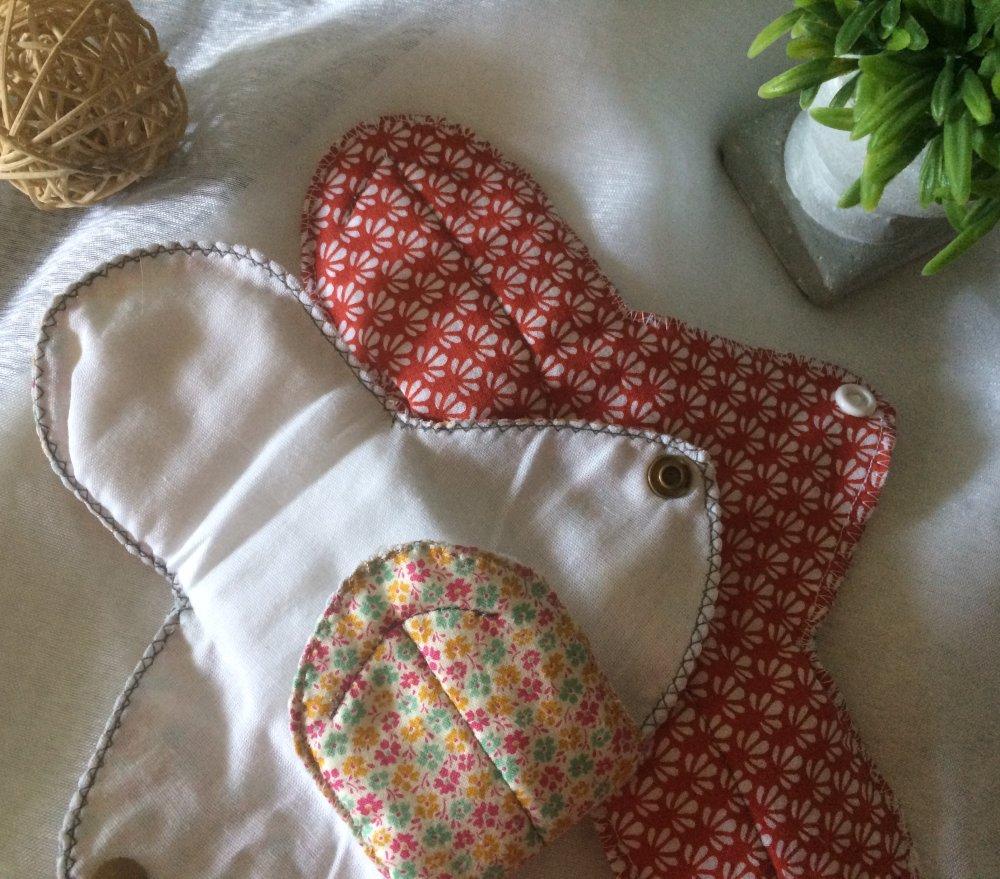 Protège slip tissu coton et bambou