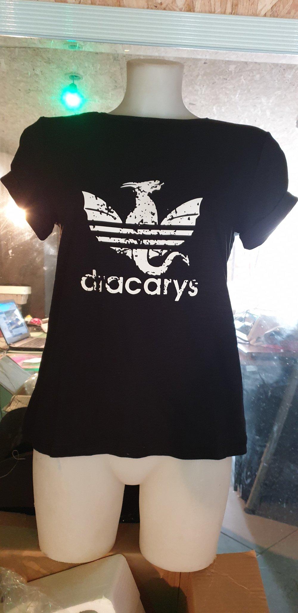 T-shirt personnalisé dracarys femme