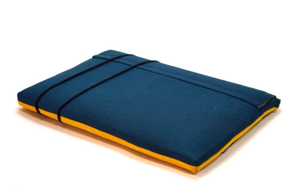 """Housse Macbook pro 15"""" tissu japonais, étui velours ordinateur portable 15"""", Housse Asus 15, pochette portable, cadeau femme"""