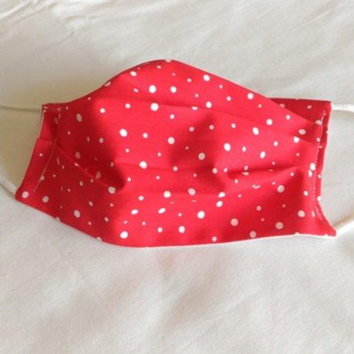 Masque 3 plis pour adulte coton 100 %