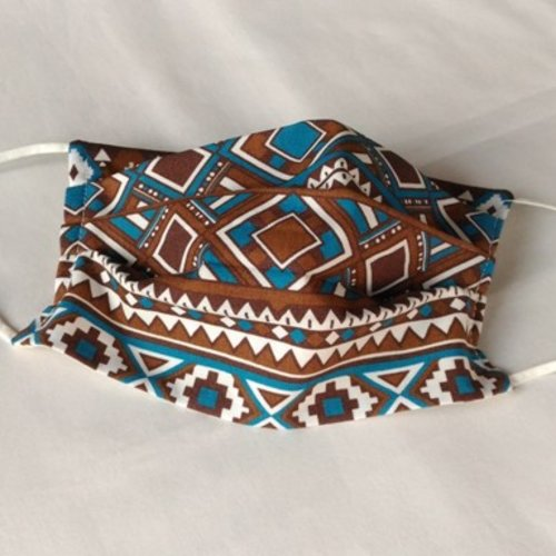 Masque de protection  3 plis 100 % coton