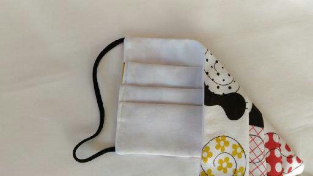 Masque de protection adulte ou ados tissus coton 100 %