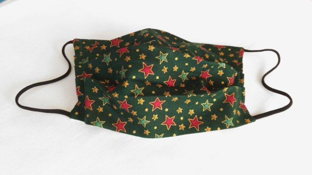 Masque de protection adulte  imprimé Noël