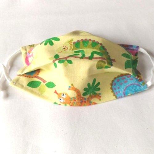 Masque protection enfant élastique réglable