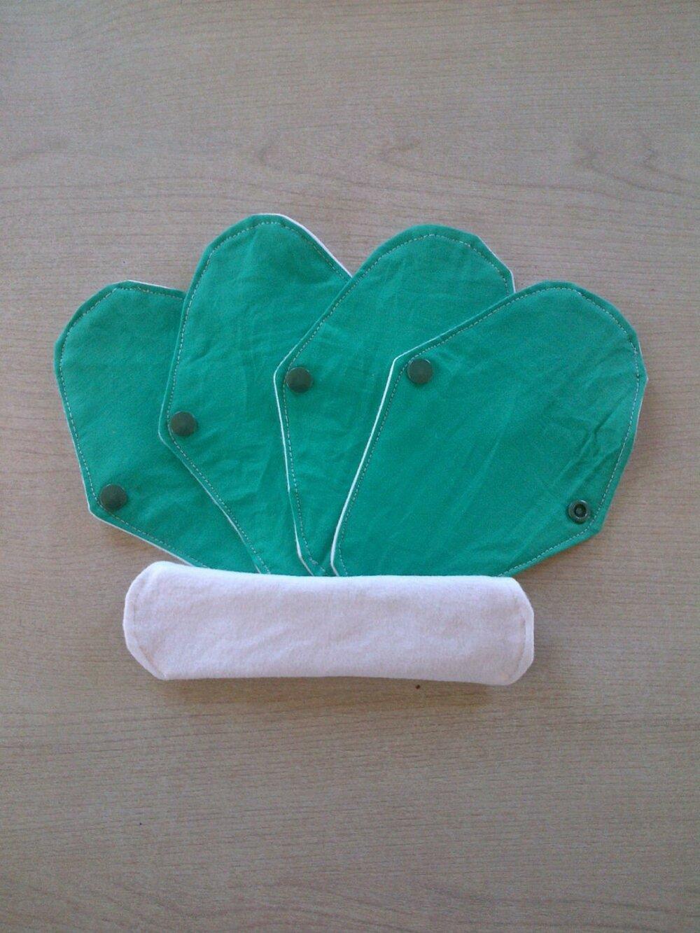 4 Protèges slips lavables écologiques