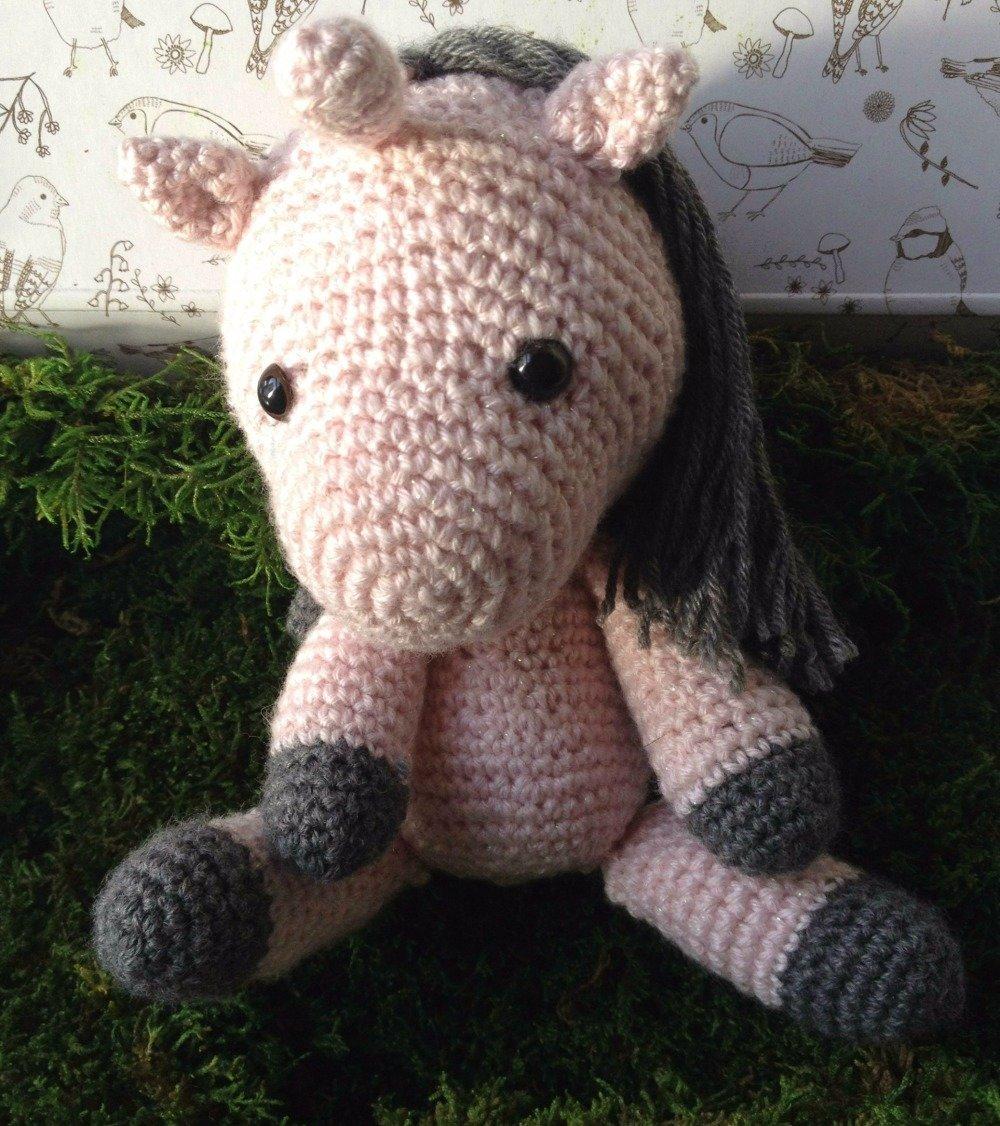 Licorne en crochet