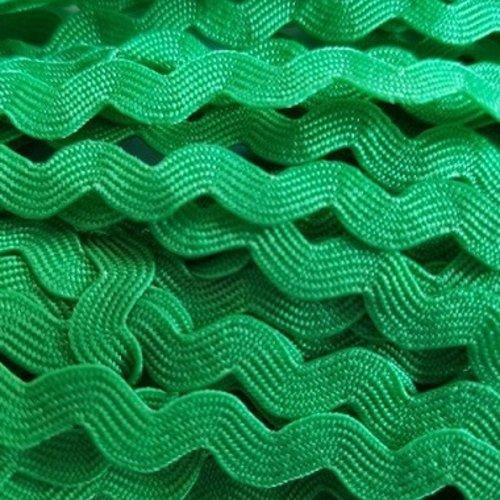Galon serpentine vert gazon - 5mm