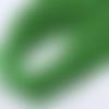 Cordon élastique rond vert - 1mm