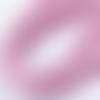 Cordon élastique rond rose - 1mm