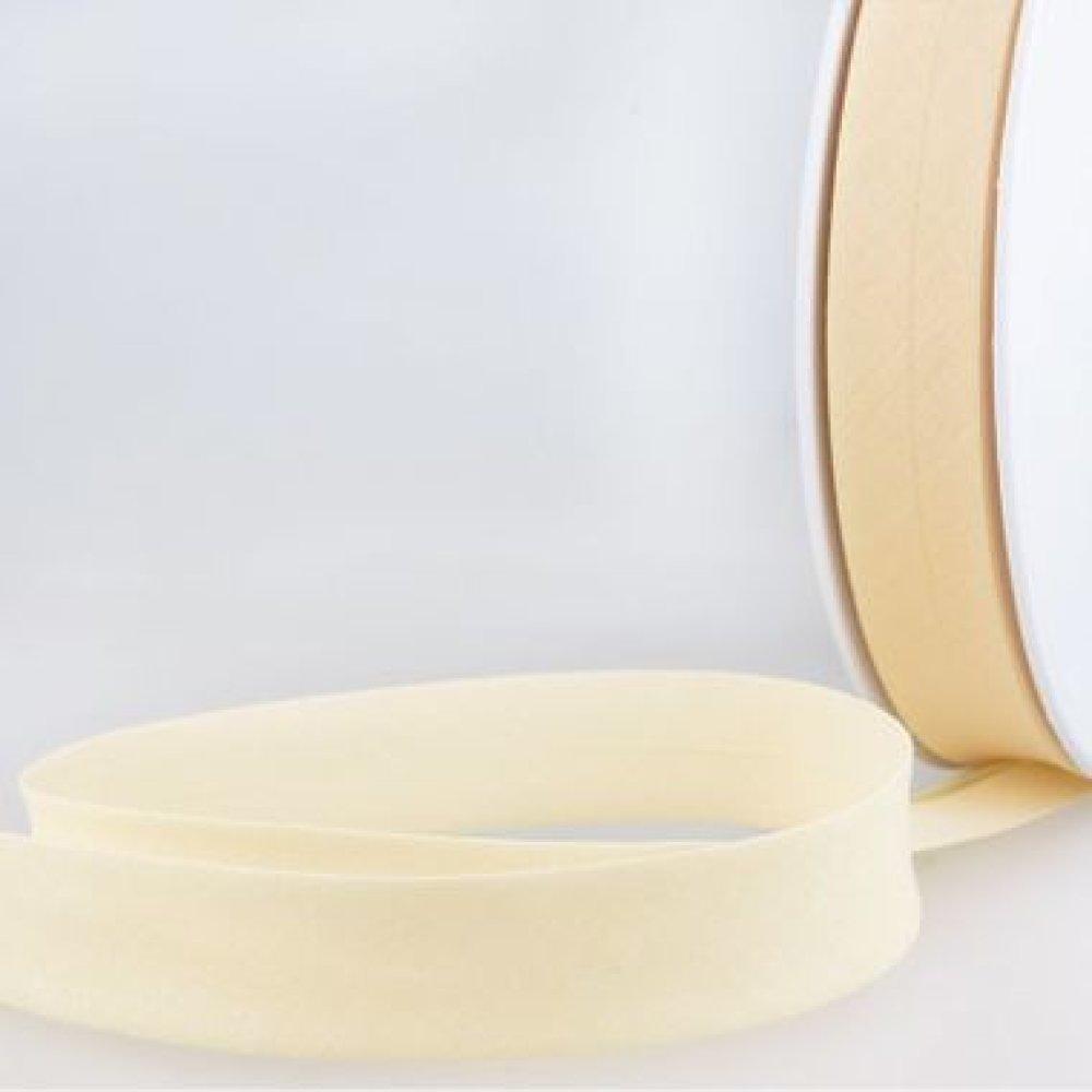 Biais de coton vanille - 2cm