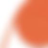 Ruban sergé de coton orange - 10mm