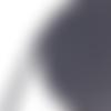 Ruban sergé de coton gris foncé - 10mm