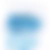 Barrette clic-clac bleu x 2