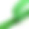 Bande velcro auto agrippant vert - 20mm
