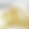 Ruban tarlatane doré - 10mm