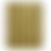 Ruban élastique doré brillant