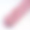 Cordon tressé rose clair