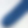 Cordon tressé bleu lagon