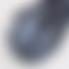 5m de ruban satin gris anthracite - 3mm