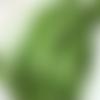 5m de ruban satin vert olive - 3mm