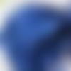 5m de ruban satin bleu outremer - 3mm