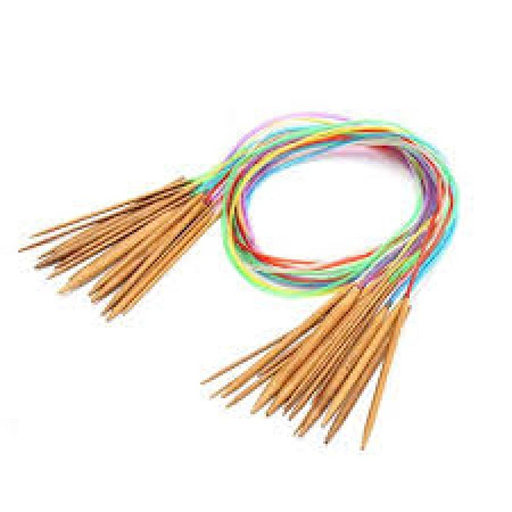 Aiguilles à tricoter circulaires de 60cm - 6,5mm