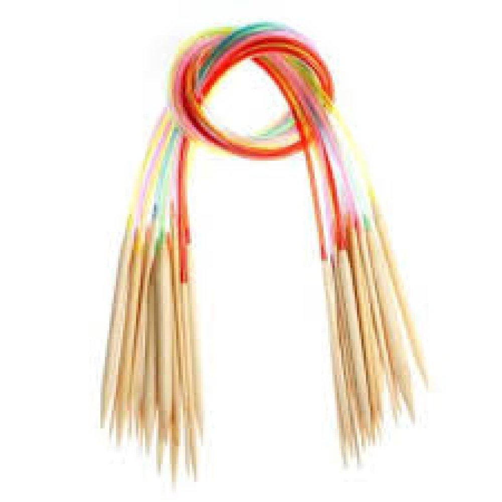Aiguilles à tricoter circulaires de 60cm - 5,5mm