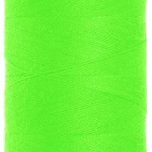 Fil à coudre vert fluo g120 - 1000m