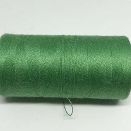 Fil à coudre vert  g120 - 1000m