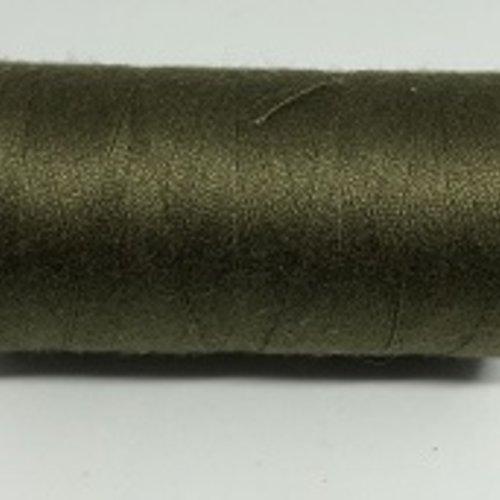 Fil à coudre vert militaire g120 - 1000m
