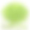 Bouton pression étoile vert anis x 6 - 12mm