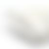 Cordon queue de rat blanc - 2,5mm