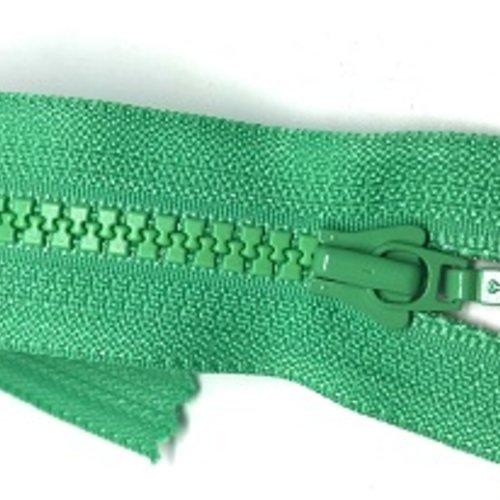 Fermeture éclair vert pré - 15cm
