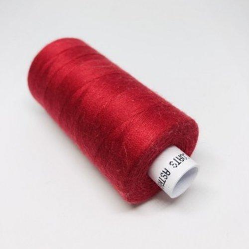 Fil à coudre rouge foncé g120  - 1000m