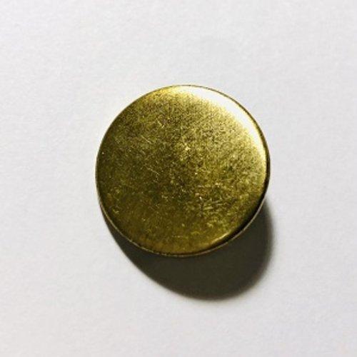 Bouton à pied doré - 20mm
