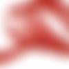 Ruban gros grain rouge - 12mm
