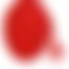 Cordon tressé rouge - 5mm