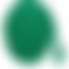 Cordon tressé vert - 5mm