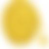 Cordon tressé jaune - 5mm